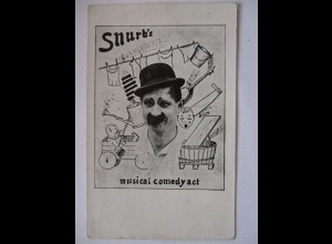 Zirkus, Clowns, Komiker, Snurb´s Comedy Act ♥ (1852)