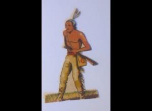 Sammelbilder, Western, Indianer, 7 cm x 4 cm, 1930 ♥ (70893)