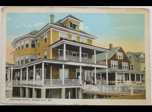USA, Hastings Hotel in Ocean City, ca. 1920 (729)