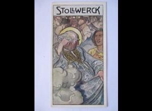 Stollwerck Sammelbild, Märchen, Der Medizinbeutel (7984)