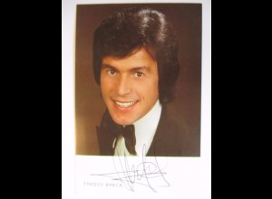 Freddy Breck, original Autogramm 1977