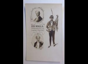 Zirkus, Edi Halla, Typendarsteller, Humor. Sprecher, 1900 ♥ (43629)