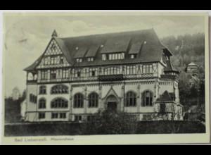 Bad Liebenzell, Missionshaus, Fotokarte 1936 (9141)