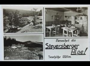 Steyersberger Alpe, Otterthal am Wechsel, Fotokarte (9632)