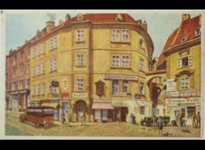 Wien, Blick vom Fleischmarkt gegen das Griechengassl, ca. 1920 (968)