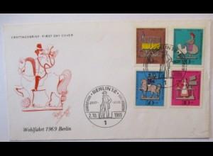 Spielzeug Zinn Zinnfiguren, FDC Deutschland 1969 (23)