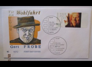 Film Schauspieler, Gert Fröbe FDC 2000 (64337)