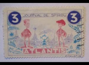 Comic, Journal de Spirou, Reklamemarke sign. Mallet (63209)