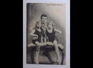 Zirkus, Familie Julius, Aktrationen, 1915 ♥ (43615)