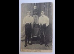 """""""Zirkus, Kagermeier mit Gebrüder Steinbacher, Akrobaten Trio"""" 1913 ♥"""