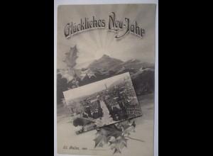 Neujahr, Stadtansicht, St. Gallen, 1906 ♥ (37966)