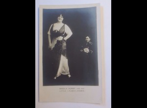 """Zirkus, Minola Hurst, Little Laugh-Lander"" 1910 ♥"