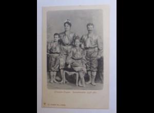 """Zirkus, Silverstro-Truppe, Sensationeller Luft-Act"" 1910 ♥"