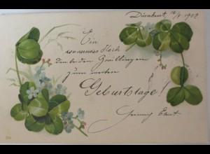 """""""Namenstag, Klee"""" 1902, Serie 290 ♥"""