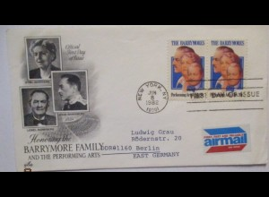 Film Theater Schauspieler, Barrymore Family, USA 1982 (133)