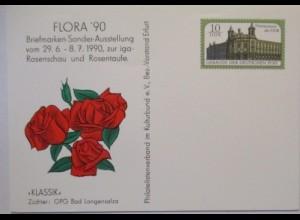 Pflanzen Blumen Rosen, Rosenschau und Rosentaufe Erfurt, DDR GA (49895)