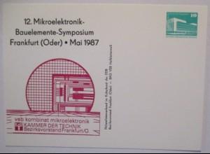 Elektronik, 12. Mikroelektronik Bauelemente Symposium Frankfurt 1977 (9701)