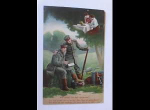 Soldaten im Krieg, Wie könnt ich dein vergessen, 1915, Feldpost (70480)