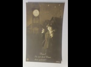 Frauen, Mode, Kirchenuhr, 1916 ♥ (44806)