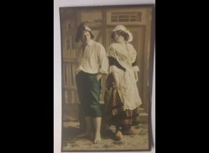 Frauen, Männer, Mode, Bauern, 1907 ♥ (58130)