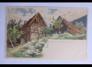 """""""Landschaft, Aus der Sächsischen Schweiz"""" 1908, Meissner & Buch ♥"""