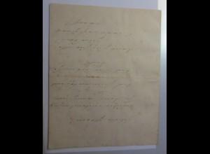 Zierbriefbogen, Briefpapier, Neujahr, 25,5 cm x 20 cm, Jahr 1877 ♥ (51F)