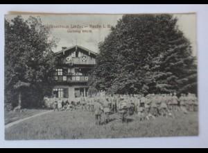 Feldpost, Schützenhaus Lindau-Reutin Weltkrieg 1914-16 ♥