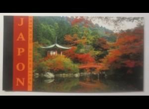 Vereinte Nationen Genf Japon 2001 Patrimoine mondial Markenheft ♥ (21939)