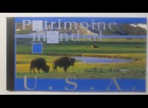 Vereinte Nationen UNO Genf Markenheft 2003 Patrimoine mondial USA ♥ (70325)
