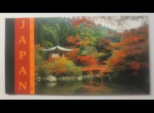 Vereinte Nationen UNO Wien Markenheft 2001 Japan ♥ (1016)