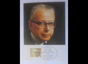 Maximumkarte Gustav Heinemann Bonn 1982 ♥ (72478)