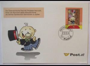 Österreich Comic Ganzsache 2004 Jahresgabe der Post (41367)