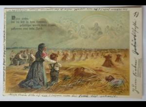 """""""Ernte, Vater unser im Himmel"""" 1903, F. Döcker ♥"""