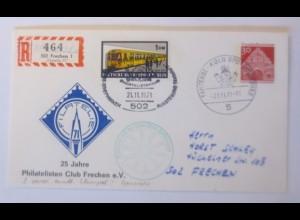 Eisenbahn, Philatelisten Club Frechen e,V. 1971 ♥ (57448)