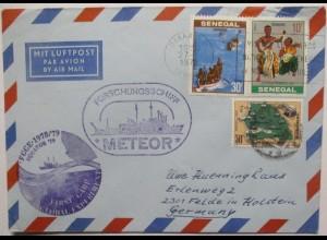 Forschung Hochseeforschung Schiff Meteor Senegal 1979 (57466)