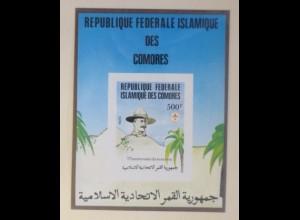 Mauretanien Block 230 Pfadfinder Landschaft xx ungezähnt 1982 ♥ (70043)
