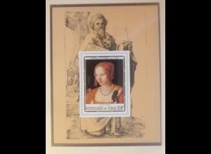 Tchad, Block 356 Gemälde Alnrecht Dürer xx ungezähnt 1978 ♥ (57469)