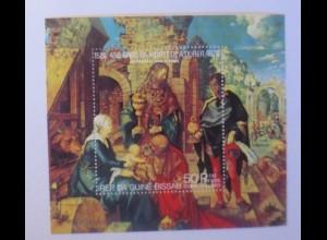 Paraguay Block Weihnachten A.Dürer Heilige 3 Könige 1978 xx ♥ (8152)
