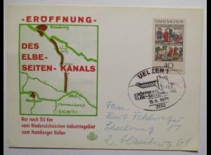 Uelzen 1976, Eröffnung des Elbe Seitenkanals (60934)