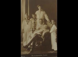 """""""Adel, Die kronprinzliche Familie"""" 1910 ♥ (9588)"""