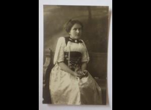Foto, Frauen, Mode, Trachten. Frankreich, 1910, Fotografie Groepler ♥ (24133)
