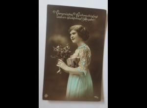 Weihnachten, Frauen, Mode, Disteln, 1908 ♥ (32140)