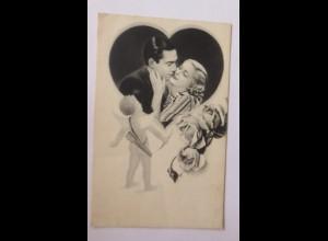 Frauen, Männer, Herz, Amor, 1944 ♥ (68389)