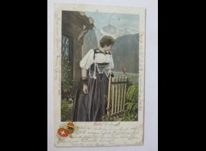 Frauen, Trachten, Bern, Schweiz, 1901 ♥ (47254)