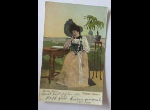 Frauen, Trachten, Bern, Berner Trachten, 1909 ♥ (47251)