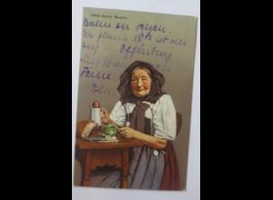 Frauen, Trachten, Berner Tracht, Berner Bäuerin,1914, Schweiz ♥ (62615)