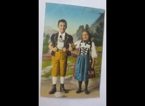 Frauen, Berner Trachten, Bern Schweiz, 1917 ♥ (68931)