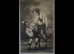 Humor Comedy The Hawleys Comedy-Gymnast ca. 1910 (702)