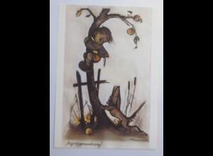 Hummel, Kinder, Dackel, Der Apfeldieb 1980 ♥ (1361)