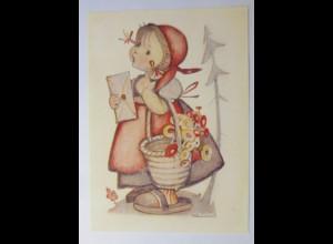 Hummel, Kinder, Kind mit Brief 1980, Emil Fink ♥ (72203)